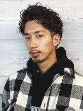 マグサロンギャラリー(Mag salon gallery)【Mag】艶男 ラフパーマ/ツーブロ 30代