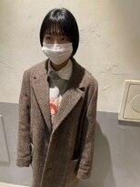 【新宿 studio noll. 小田木】ショートボブ_210102