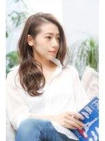ミンクス 銀座店(MINX)【MINX土屋】JJオードリー亜谷香風髪型「ラフウェーブ」