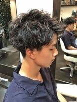 オムヘアーツー (HOMME HAIR 2)#アップバング#マッシュレイヤー#メンズパーマ#hommehair2nd櫻井