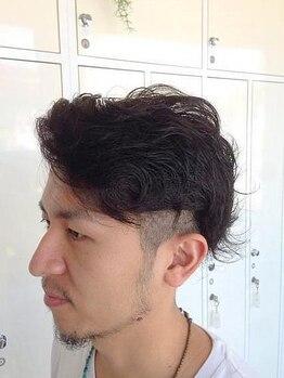 ルアナ ヘアーメイク(LUANA Hair Make)の写真/<メンズのお客様も多数ご来店★>学生~ビジネスマンまで幅広く支持◎再現性にこだわったMen's Styleを♪