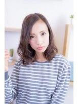グラスヘア(Grous hair)【Grous Hair 錦糸町】☆HAPPYふわゆるミディ♪ 2