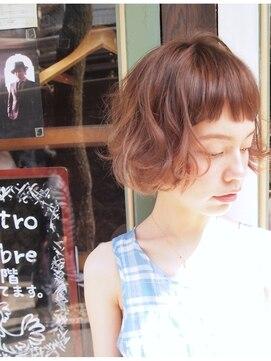 ナヌーク シブヤ(nanuk shibuya)【nanuk】ヨーロピアンテイスト◇ぬけ感のある外国人風ミニボブ