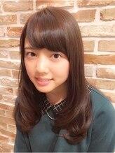 トモリヘアルーム (tomori Hair room)ふんわりボリューム☆ワンカール・セミロングスタイル
