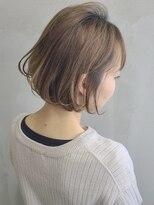 ソース ヘア アトリエ(Source hair atelier)【SOURCE】ミルクティーボブ