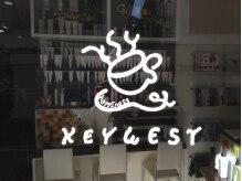 キーウェスト(KEY WEST)の雰囲気(入口ドア ロゴです)