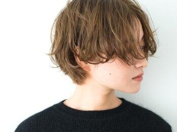 グエンコ(Guenco)の写真/《リピーター多数》ダメージ毛や軟毛の方に特にオススメ◎最新の形状記憶パーマで簡単スタイリングが叶う。