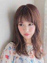 オジコ(ojiko)☆月曜営業☆【ojiko.】大人可愛いウェットなセミロング