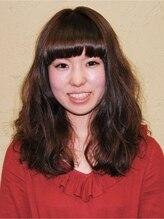 ヘアーメイク ジーマ(hair make Jima)ぱっつんバング×ボリュームパーマ
