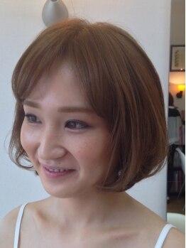 フルールスリジェ(fleur cerisier)の写真/旬カラーでスタイルチェンジ♪ダメージレスでお好みのカラーが叶う♪【うる艶カラー+カット¥6048】