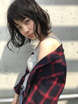 セミウエット × 黒髪ボブ #CLOCKLESS伊勢崎