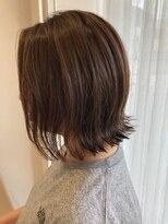 ケーオーエス(KOS beauty hair, nail & eyelash)切りっぱなしボブ