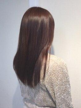 トリニティ ヘアー デザイン(TRiNiTy HAIR DESIGN)の写真/人気のトリートメント【TOKIO】【COTA】使用◎綺麗な髪で気分もUP!美しいスタイルは艶感溢れる美髪から♪