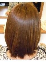 縮毛矯正専門店 ヘアーデザインリンク 八王子(Hair Design Link)潤いツヤ縮毛矯正。