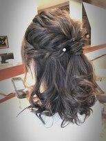 ヴェジールヘアデザイン(Vezir hair design)大人可愛いハーフアップ