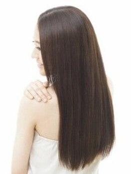 エミュー(emue)の写真/話題の《TOKIOトリートメント使用の縮毛矯正》だからダメージレス!理想のやわらか質感ストレートに…☆