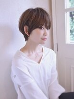 ナツヤ(NATSUYA)大人かわいいショートハニーヘア