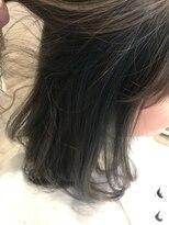 ヘアーディープ(hair deep)インナーブルー
