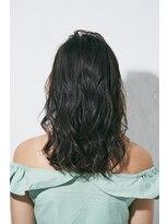 ジュール 銀座 ヘアラウンジ(Joule Hair Lounge)インナーカラー×カジュアルフリンジウェーブ[銀座]