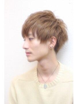 ゼロヘアー(zero hair)メンズ 美シルエットマッシュショート + ニュアンスパーマ