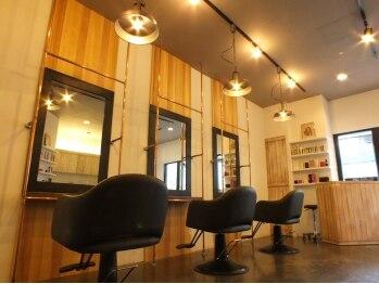 ヘアーサロンネイブ(Hair Salon Nab)の写真/注目を集める【創成川イーストエリア】緊張がほぐれるプライベート空間で、至福のリラックスタイムを…