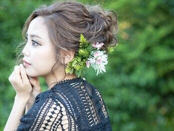 サロン ド リリー(salon de Lily)の写真/【ヘアセット¥1800~】 特別な日を彩る1ランク上のヘアセット☆周囲の視線を惹きつける褒められヘアに♪
