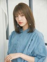 オーブ ヘアー カルネ 松戸店(AUBE HAIR carnet)【AUBE HAIR】ショコラブラウン_セミディヘア