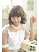 ジーナフクオカ(Zina FUKUOKA)☆Zina☆大人かわいい透け感ボブ