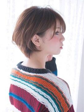 オジコ(ojiko)☆月曜日営業☆ojiko.大人可愛いナチュラルショートボブ