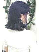 ヘアーサロン エール 原宿(hair salon ailes)(ailes原宿)style331 デザインカラー☆ローブルーラベンダー