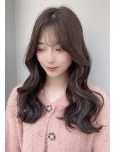 ジェニー ハラジュク(geny harajuku)韓国人風ヘアになれるヨシンモリ×薄めバング 黒髪も◎SHIGE