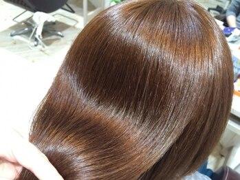 フェリールヘア(Felire hair)の写真/あなたの髪の状態に合わせてトリートメントをご提案。多種の中からぴったりのものを厳選します♪