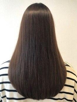 """ヘアー プティ(hair puti)の写真/毎朝のお手入れに悩むあなたへ、ナチュラルにまとまるヘアをサポート◎""""形状記憶トリートメント""""がおすすめ"""