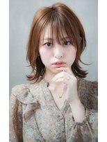 リル ヘアーデザイン(Rire hair design)【Rire-リル銀座-】ハネ感◎耳かけミディ