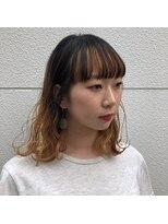 ヘアーアイストゥーレ(HAIR ICI TRE)バレイヤージュ