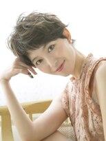 【Lond charme 濱田麻佑】アンニュイショートパーマ