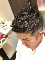 オムヘアーツー (HOMME HAIR 2)#外国人風#ショートパーマ#フェードカット#hommehair2nd櫻井