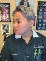 オムヘアーフォー(HOMME HAIR 4)外国人風ホワイトベージュ【HOMME HAIR4 熊田】