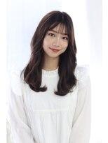 ヘアリゾート ブーケ(hair+resort bouquet)☆韓国ヘア☆前髪☆シースルーバング☆nami