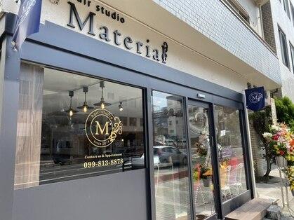 ヘアスタジオ マテリアル 中央駅店(hair studio Material)の写真