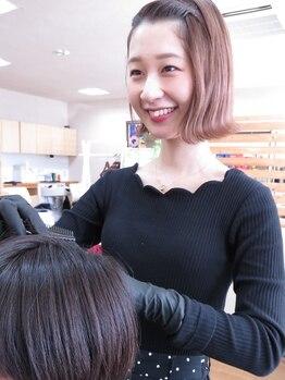 ヘアカラー専門店 カラリ(Colari)の写真/《ヘアケアのことならお任せ下さい!》笑顔溢れる女性スタイリスト達がお出迎え!髪の悩みも気軽に相談◎