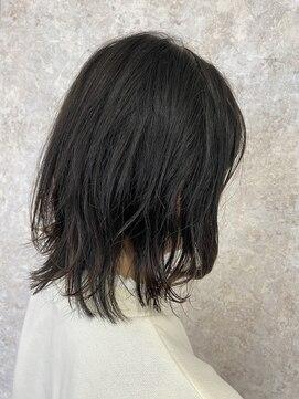 シュガービー(SUGAR-B)【SUGAR-B】ブルーグレーレイヤーボブ