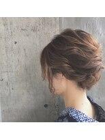 クレーデヘアーズ 相田店(Crede hair's)#浴衣のゆったりアレンジ