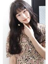 ヘアサロン ガリカ 表参道(hair salon Gallica)『 シースルーバング & 毛束感 』無造作・毛束感semi ☆