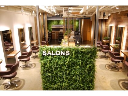 サロンズ ヘア 四条室町店(SALONS HAIR)の写真