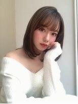 カヤックバイハニー 渋谷店(KAYAK by HONEY)【KAYAK渋谷】大人の上質な艶感が人気のラベンダーベージュ