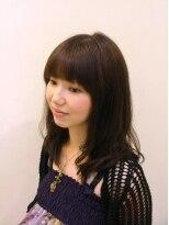 ファルコヘア 立川店(FALCO hair)スモーキーカラーのふんわりヘア