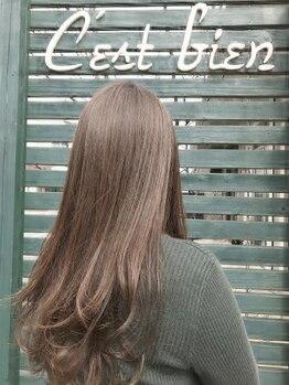 セビアン(Cest Bien)の写真/髪質改善!!傷みに合わせて内部から徹底補修!!初めての方でも丁寧なカウンセリングでなりたい髪質が叶う☆