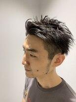 レッドネオ エビス(Redneo ebisu)ツーブロックアップバング刈り上げショートヘアー