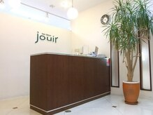 ジュウィール(jouir)の雰囲気(階段をのぼってすぐのフロント)